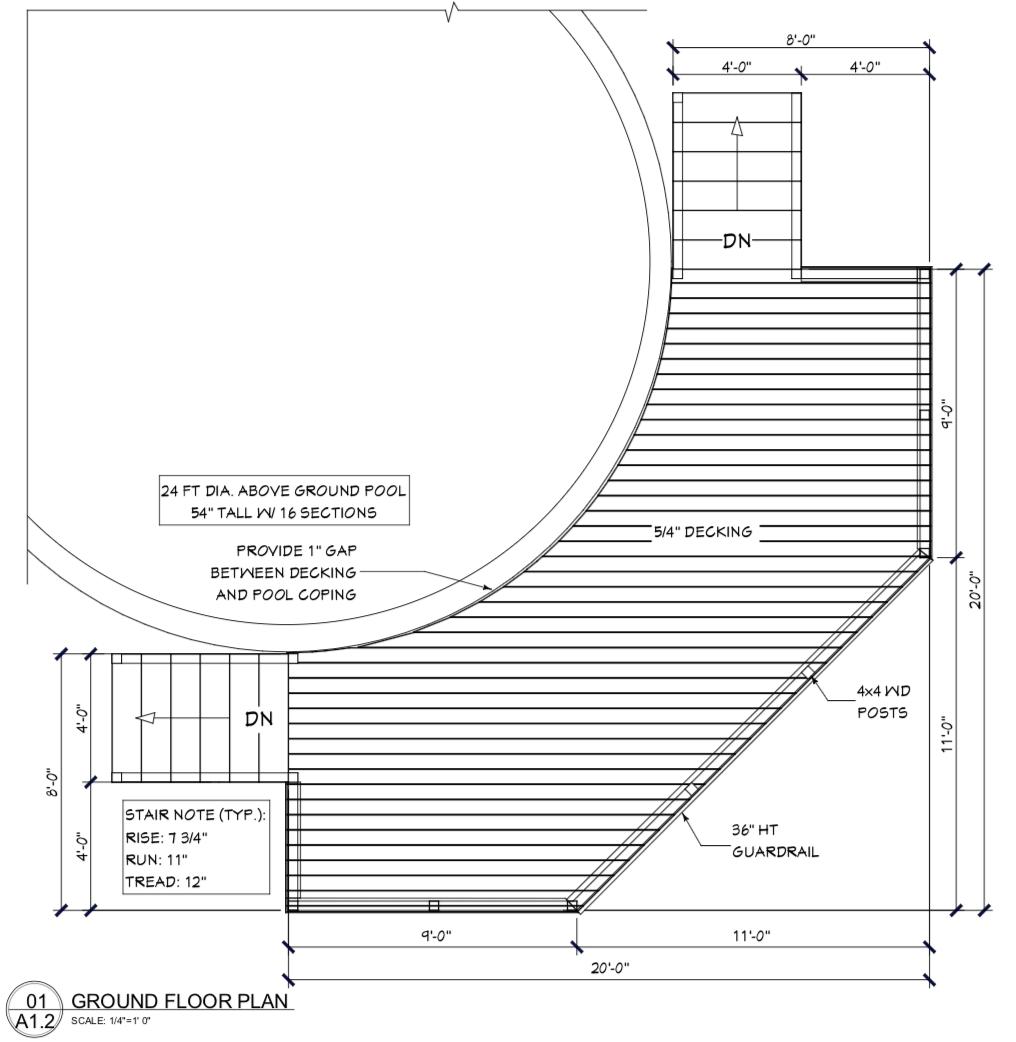 Deck Plan 18 46 Decksgo Plans